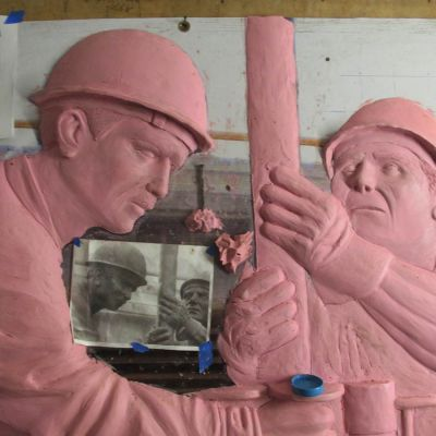 relief project in clay